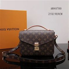 c783363c4ccb3 LV Louis Vuitton Pochette Metis Bag AM40780 Monogram Handbag
