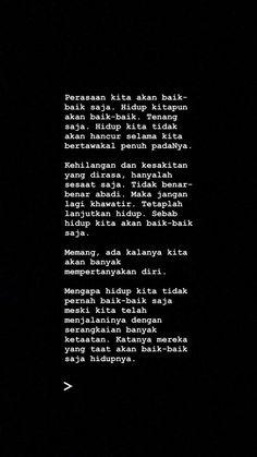 New Ideas for quotes indonesia cinta baper Quotes Rindu, Study Quotes, Text Quotes, Quran Quotes, Mood Quotes, Minimal Quotes, Simple Quotes, Reminder Quotes, Message Quotes