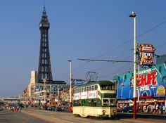 Blackpool Tram.