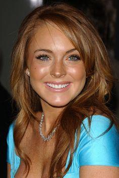 Lindsay Lohan...before she became a total trainwreck.