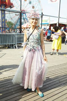 Street Style: The Most Dazzling and Mystical at the Mermaid Parade - The Cut