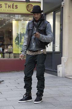 paolo roldan, male, street style photo: on Vein - getvein.com