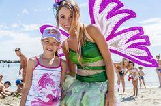Nella spiaggia del Blu Suite vacanze magiche con le #winx