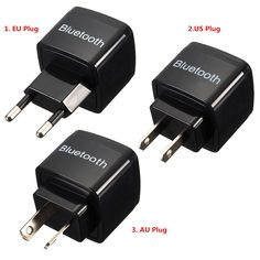 EU/US/AU Plug Universal Wireless Car Bluetooth Receiver Adapter 3.5MM AUX Audio Stereo Music Receiver Bluetooth Audio Adapter