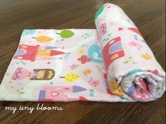 Princess Baby Blanket- Castle Baby Blanket- Grow With Me- Toddler Blanket- Pink Baby Blanket- Baby Shower Gift- Baby Girl- My Tiny Blooms