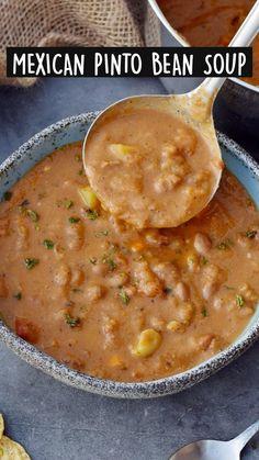 Mexican Food Recipes, Whole Food Recipes, Vegetarian Recipes, Healthy Recipes, Italian Recipes, Crockpot Recipes, Soup Recipes, Dinner Recipes, Cooking Recipes