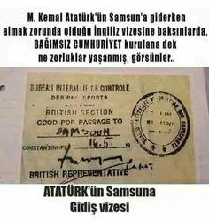 Tattoo Finka Atatürk samsun vize