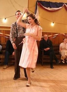Ahh love the dress and shoes!  Would do anything to go to a dance like this!  (Traveling back in time would work too. ;)