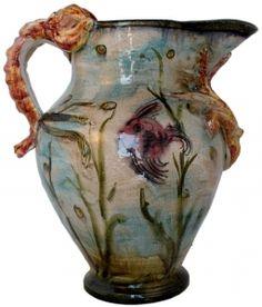 Michelangelo Sea Life Pitcher