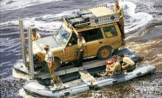Land Rover Discovery I in the Camel Trophy 1993.