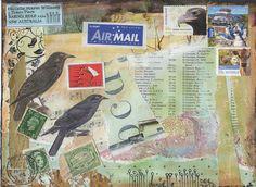 Danielle Maret - Mail Art Envelope  295, via Flickr.