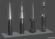 ArtStation - Railgun Ammunition, Ben Bolton