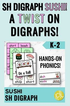 Your students will definitely remember the /sh/ digraph with this set of activities! This is a huge packet of phonics games, visuals, and centers focused on the sh digraph. Also included: printables, environmental print, and progress monitoring! #digraphs #phonicsgames