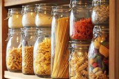 Kitchen Storage Ideas | Shelves, Jars, Racks, and Organizers -  kitchen food storage jars