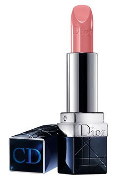 Dior Nude Rouge Lipstick available at #Nordstrom. Rich and creamy, and this shade is perfect for me.
