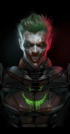 Joker as Batman Joker Batman, Joker Y Harley Quinn, Joker Art, Batman Art, Joker Hd Wallpaper, Joker Wallpapers, Cosplay Del Joker, Batman Telltale, Kopf Tattoo
