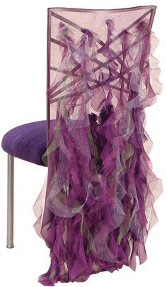 Cavali Plum Chameleon Chair Sleeve