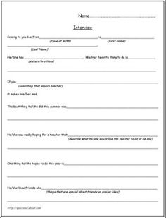 A Free Printable Worksheet for Back to School Goals: Back To ...