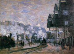 0255 Saint-Lazare Station, the Western Region Goods S heds 1