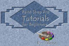 Paint Shop Pro Beginners Tutorials