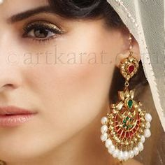 Bridal jewellery EARRING