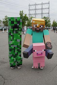 minecraft costumes kids   Minecraft costume @Tami Arnold Arnold Arnold Arnold Arnold ...   For the Kids