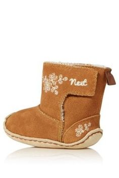 Tan Suede Boots (0mths-2yrs) from Next