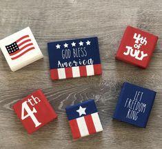 Patriotic Crafts, July Crafts, Summer Crafts, Holiday Crafts, Americana Crafts, Holiday Ideas, Fourth Of July Decor, 4th Of July Decorations, July 4th