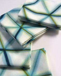 #Shibori Fabric #HandDyed by CapeCodShibori $12.00 #fatquarters. Visit Etsy shop for description.