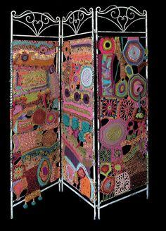 Crochet screen