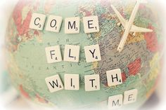 Come fly with me by lucia and mapp, via Flickr