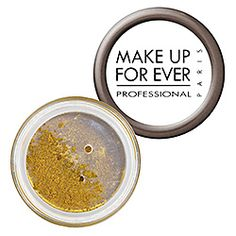 metal powder by make up forever in green olive gold shimmer #sephoracolorwash