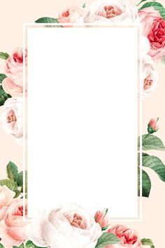 Flower Background Wallpaper, Flower Backgrounds, Rose Frame, Flower Frame, Wedding Cards, Wedding Invitations, Boarders And Frames, Frame Template, Templates