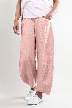 Pantalon Geeli en lino 100% de venta en www.laobservadora.com