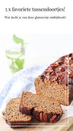 Ontbijtkoek! Glutenvrij, lactosevrij én zonder geraffineerde suikers!