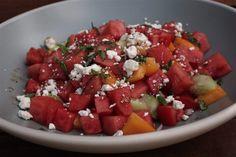 Summertime, summertime..Watermelon Tomato Salad