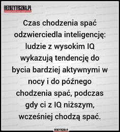 Czas chodzenia spać odzwierciedla inteligencję:… » Bezuzyteczna.pl- Codzienna dawka wiedzy bezuzytecznej
