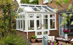 White timber Regency conservatory