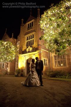 Great Fosters, Egham, Surrey at Night
