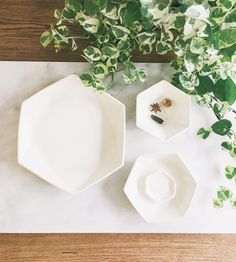 Hexagon Serving Dish