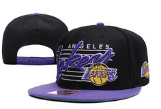 NBA LA Lakers Snapback Hats Caps NewEra Black 2551! Only $8.90USD