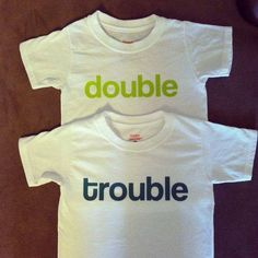 Double Trouble Twin Set Baby & Toddler T-Shirt
