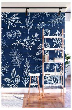 Bedroom Wall Designs, Bedroom Murals, Bedroom Decor, Wall Painting Decor, Mural Wall Art, Wall Decor, Chalk Wall, Decoration Inspiration, Design Inspiration