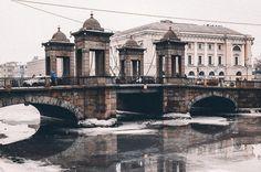 Мост Ломоносова.  Автор: Павел Демичев (Paveldemichev).