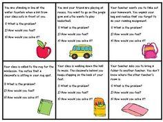 Problem Solving Scenarios (School)