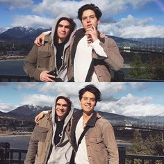 Archie and Jughead out and about