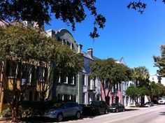 """Check out """"Rainbow Row - Charleston SC"""" pictures and other great photos of Charleston, South Carolina and nearby locations submitted by travelers at IgoUgo."""