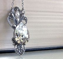 Victorian Crystal Necklace by Aranwen