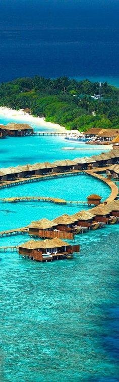 Lily Beach Resort en las Maldivas.  Auténtico paraíso....
