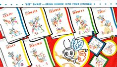 busy bees vintage embroidery pattern #free #embroidery #diy #crafts